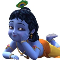 LORD KRISHNA CARTOON 3D IMAGES